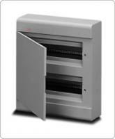 АВВ EUROPA бокс 24М наружный серый, серая дверь 12454