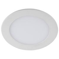 LED 1-12 6K Светильник ЭРА светодиодный круглый LED 12W 220V 6500K