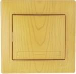 Lezard MIRA выключатель 1 кл. Ольха 0701-100