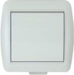 Lezard NATA выключатель 1 кл. белый 710-0200-100
