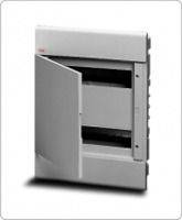 АВВ EUROPA бокс 24М внутренний серый, серая дверь 12030