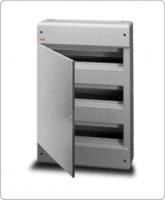 АВВ EUROPA бокс 54М наружный серый, серая дверь 12457