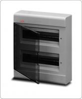 АВВ EUROPA бокс 24М наружный серый, прозрачная дверь 12474