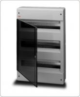 АВВ EUROPA бокс 54М наружный серый, прозрачная дверь 12477
