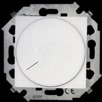 1591796-030 Регулятор напряжения поворотный для светодиодных регулируемых ламп 230В, 5-215Вт, винтовой зажим, белый, Simon