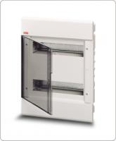 АВВ EUROPA бокс 24М внутренний белый,прозрачная дверь 1SL2063