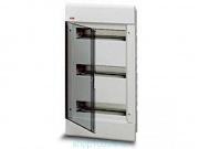 АВВ EUROPA бокс 36М внутренний белый,прозрачная дверь 1SL2065