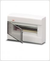 АВВ EUROPA бокс 12М наружный белый,прозрачная дверь 1SL2462