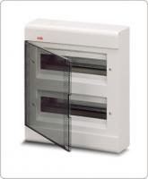 АВВ EUROPA бокс 24М наружный белый,прозрачная дверь 1SL2464