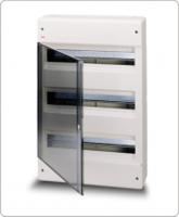 АВВ EUROPA бокс 54М наружный белый,прозрачная дверь 1SL2467