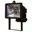 Прожектор галогеновый уличный IP54 150 вт черный