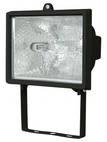 Прожектор галогеновый уличный IP54 500 вт черный