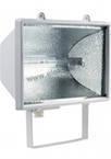 Прожектор галогеновый уличный IP54 1000 вт белый