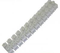 Клеммная колодка винтовая 6мм2 12 полюсная 10A