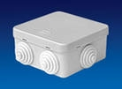 Коробка распаечная LX-35005 100х100х50 IP55 открытой установки