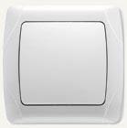 Viko Carmen выключатель встраиваемый 1кл. белый 90561001