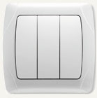 Viko Carmen выключатель встраиваемый 3кл. белый 90561068