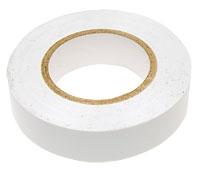 Изолента ПВХ белая 19мм*20м 150мкм