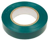 Изолента ПВХ зеленая 19мм*20м 150мкм