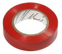 Изолента ПВХ красная 19мм*20м 150мкм