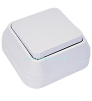Makel SIVA USTU выключатель 1 кл. белый 45101