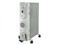 Масляный радиатор Дельта D06F-11 2,5кВт 11 секций вентилятор