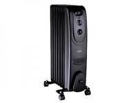 Масляный радиатор Дельта D61-7 1,5кВт 7 секций черный