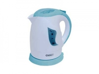 Чайник ENERGY E-209 (1 л диск) бело-голубой
