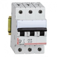 Legrand DX3-E Автоматический выключатель 3/10А 407289(3449)