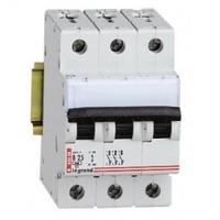 Legrand DX3-E Автоматический выключатель 3/ 6А 407288(3447)