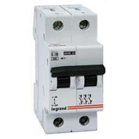 Legrand TX3 Автоматический выключатель 2п 6А 404039