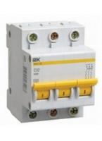 iEK Автоматический выключатель ВА47-29 3П 6А MVA20-3-006-C