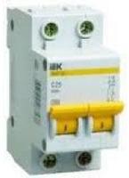 iEK Автоматический выключатель ВА47-29 2П 25А MVA20-2-025-C