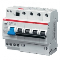 ABB Дифференциальный автоматический выключатель 6 модулей DS204 AC-С10 30мА 2CSR254001R1104