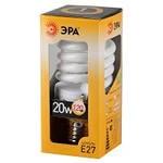 Эра лампа энергосберегающая F-SP 20W-Е27 теплая F-SP 827