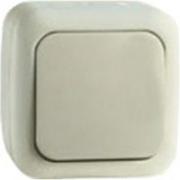 Vi-ko Palmiye выключатель 1 кл. IP54 открытая установка крем 90555601