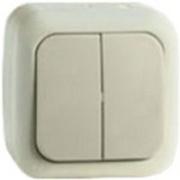 Vi-ko Palmiye выключатель 2 кл. IP54 открытая установка крем 90555602