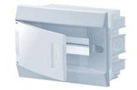 ABB Mistral IP41 Бокс внутренний белый с белой дверцей 12М с клеммой 1SLM004102A1103