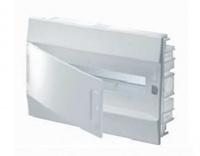 ABB Mistral IP41 Бокс внутренний белый с белой дверцей 18М с клеммой 1SLM004102A1104