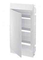 ABB Mistral IP41 Бокс внутренний белый с белой дверцей 36М 3 ряда с клеммой 1SLM004102A1107