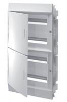 ABB Mistral IP41 Бокс внутренний белый с белой дверцей 72М с клеммой 1SLM004102A1110