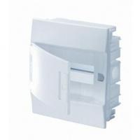 ABB Mistral IP41 Бокс внутренний белый с белой дверцей 8M с клеммой 1SLM004102A1102