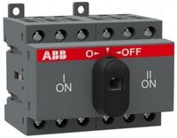 ABB Реверсивный рубильник OT 16F3С до 16А 3х-полюсный на DIN-рейку или монтажн. плату (с резерв. ручкой) 1SCA104816R1001