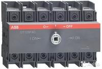 ABB Реверсивный рубильник OT125F3C до 125А 3-полюсный на DIN-рейку или монтажн. плату (без ручки) 1SCA105037R1001