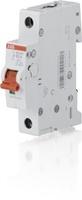 ABB рубильник на DIN-рейку 1-полюсной SD201/50 рычаг красный 2CDD281101R0050