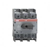 ABB рубильник OT 100F3 до 100А 3х/для установки на DIN-рейку или монтажная плата (с резерв. ручкой) 1SCA105004R1001