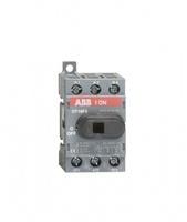 ABB рубильник OT 16F3 до 16А 3х/для установки на DIN-рейку или монтажную плату (с резерв. ручкой) 1SCA104811R1001