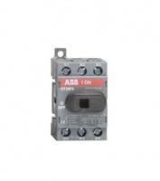 ABB рубильник OT 25F3 до 25А 3х/для установки на DIN-рейку или монтажную плату (с резерв. ручкой) 1SCA104857R1001