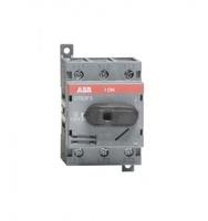 ABB рубильник OT 63F3 до 63А 3х/для установки на DIN-рейку или монтажную плату (с резерв. ручкой) 1SCA105332R1001