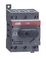 ABB рубильник OT 80F3 до 80А 3х/для установки на DIN-рейку или монтажную плату (с резерв. ручкой) 1SCA105798R1001